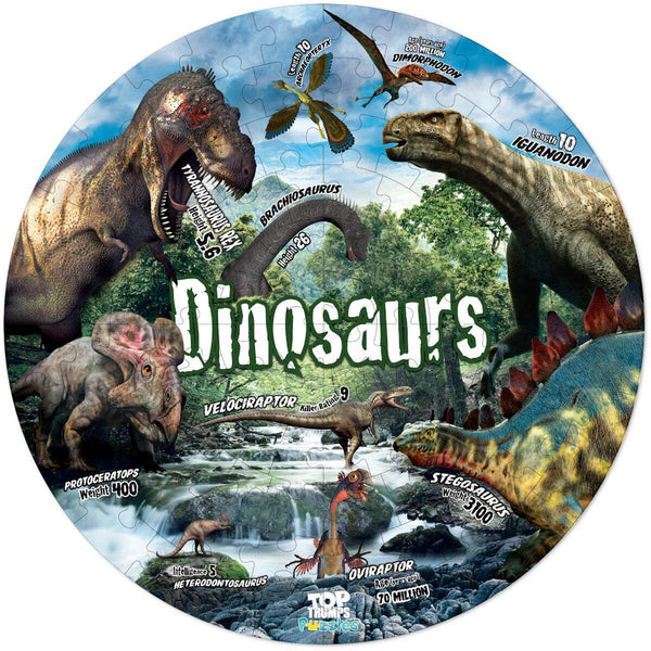 Dinosaurs 100 Piece Jigsaw Puzzle - Winning Moves UK