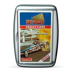 Crazy Cars Retro Top Trumps