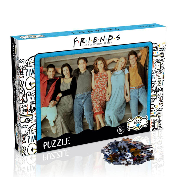 Friends Stairs 1000 Piece Jigsaw Puzzle