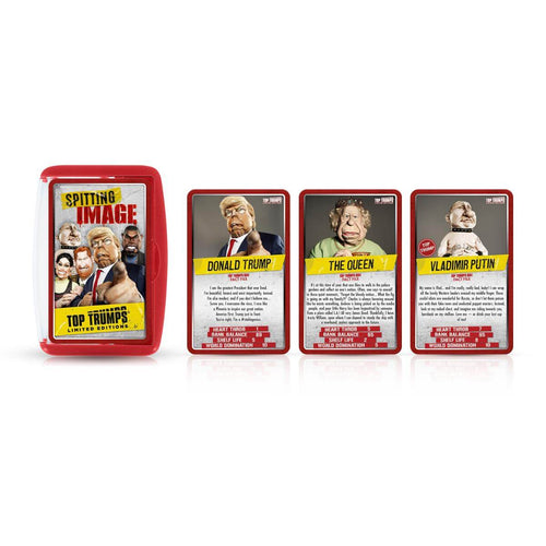 Spitting Image Limited Edition Top Trumps Card Game