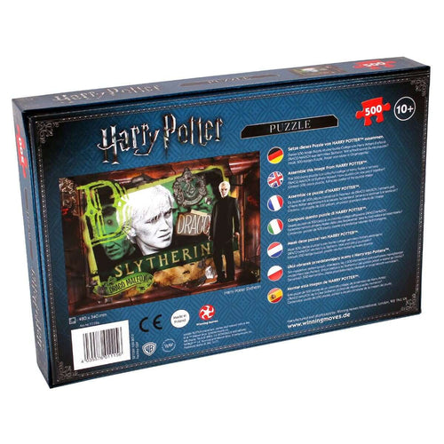 Harry Potter Slytherin 500 Piece Jigsaw - Winning Moves UK