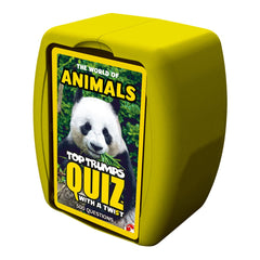 World of Animals Top Trumps Quiz