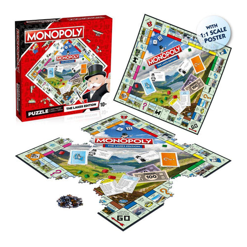 The Lakes Monopoly 1000 Piece Jigsaw Puzzle