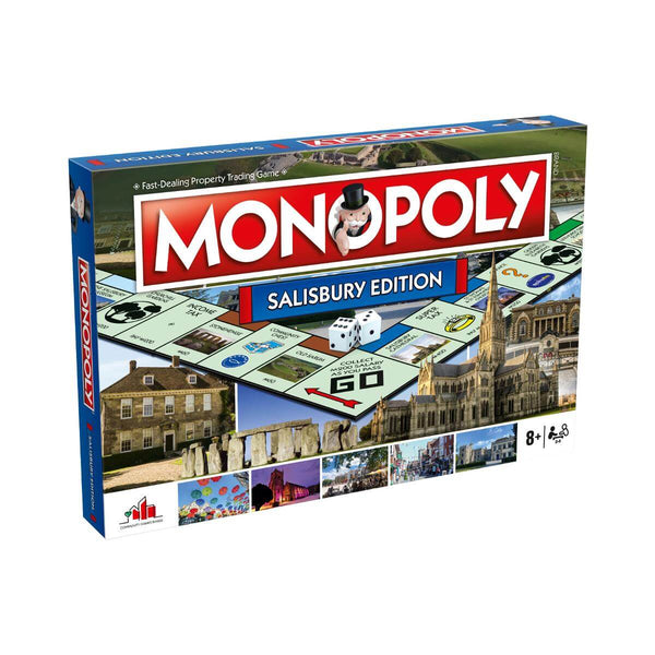 Salisbury Monopoly Board Game