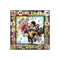 One Piece Monopoly Board Game - Winning Moves UK