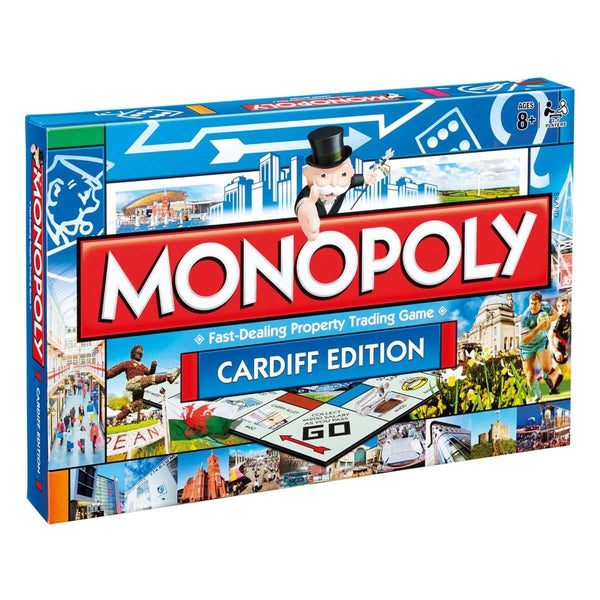 Cardiff Monopoly - Winning Moves UK