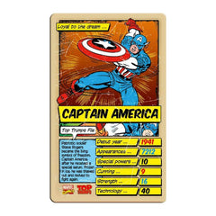 Marvel Comics Retro Top Trumps - Winning Moves UK