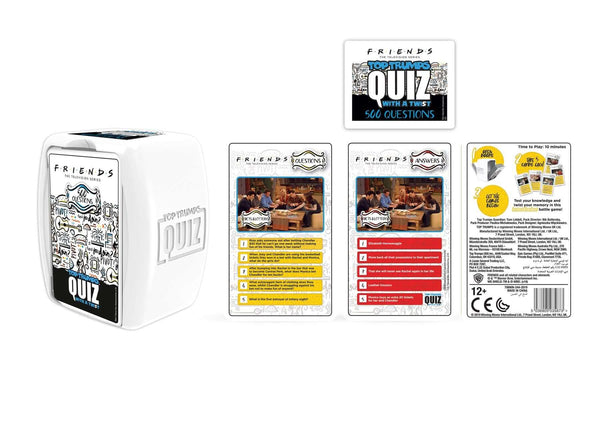 Friends Top Trumps Quiz Game - Winning Moves UK