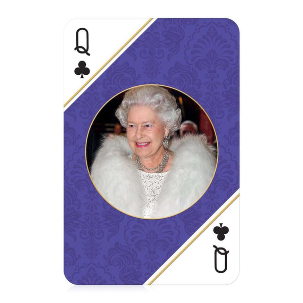 HM Queen Elizabeth II Waddingtons Number 1 Playing Cards
