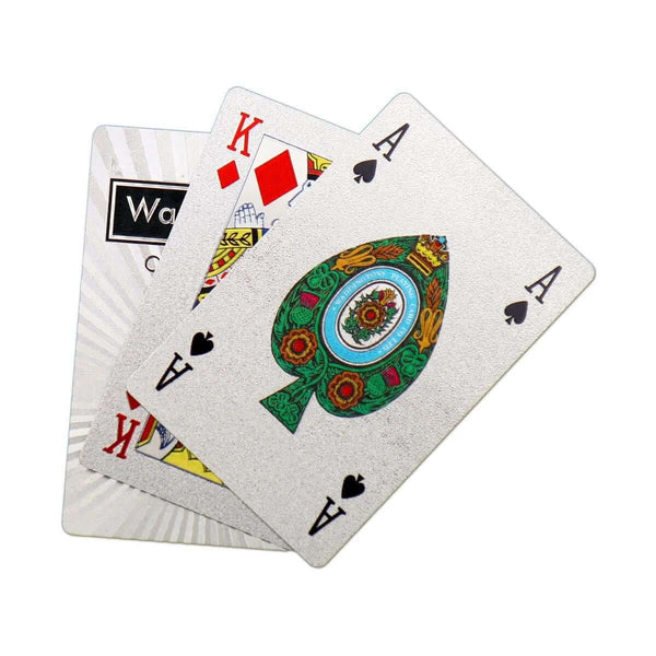 Classic Platinum Waddingtons Number 1 Playing Cards - Winning Moves UK