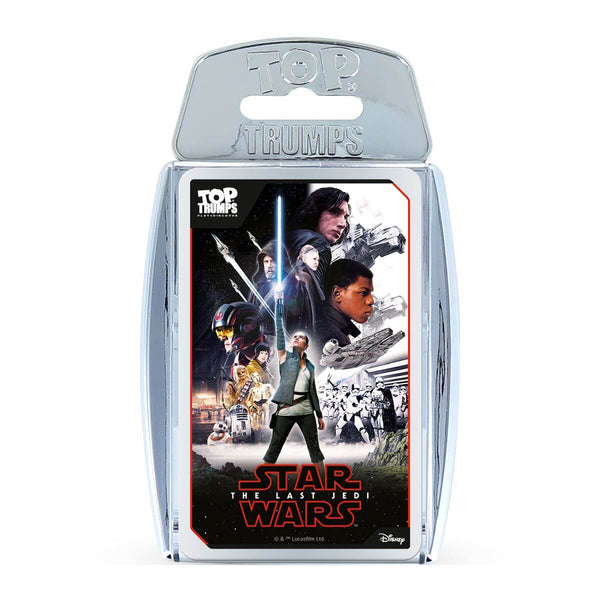 Star Wars The Last Jedi Top Trumps - Winning Moves UK