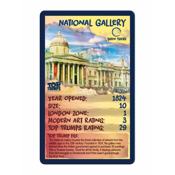 Top London Galleries Top Trumps