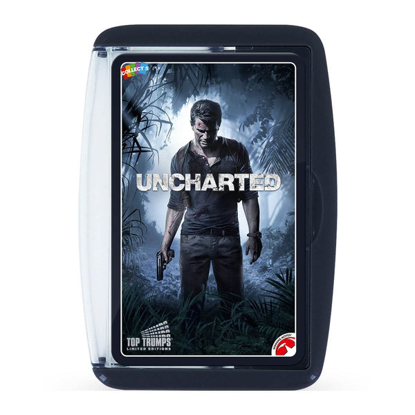 Uncharted Top Trumps Card Game - Winning Moves UK
