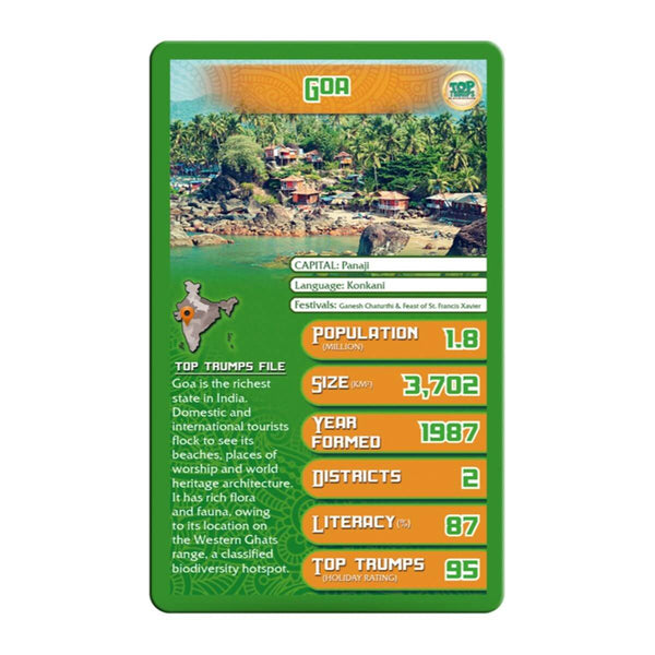 States of India Top Trumps