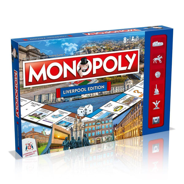 Liverpool Monopoly Board Game - Winning Moves UK