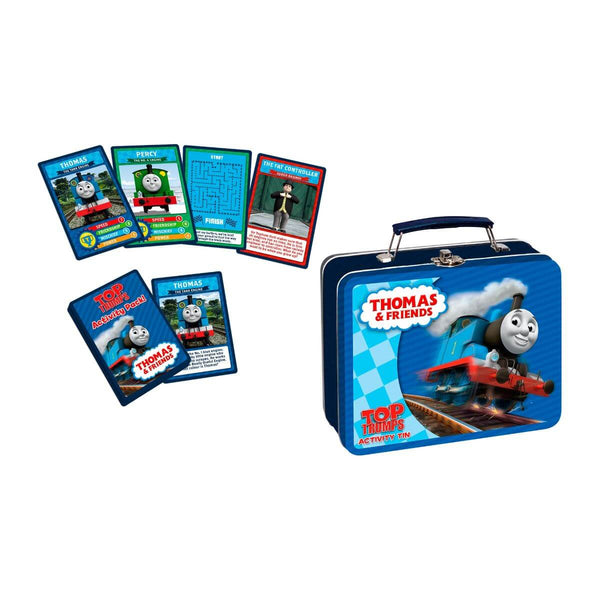 Thomas and Friends Top Trumps Activity Tin - Winning Moves UK
