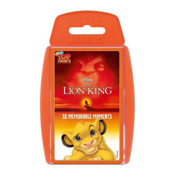 Lion King Top Trumps - Winning Moves UK