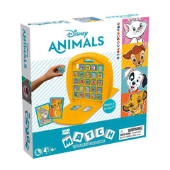 Disney Animals Top Trumps Match