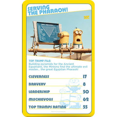 Minions Top Trumps - Winning Moves UK