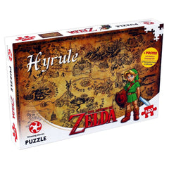 Legend of Zelda Hyrule Field 500 Piece Jigsaw
