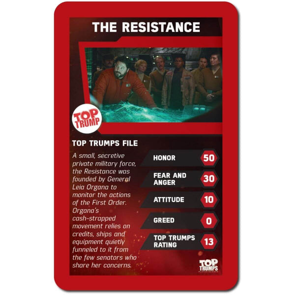 Star Wars The Force Awakens Top Trumps - Winning Moves UK