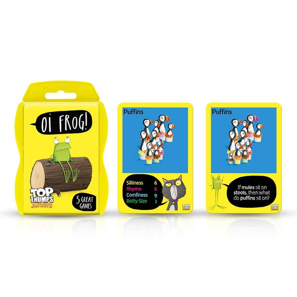 Oi Frog Top Trumps Junior Card Game