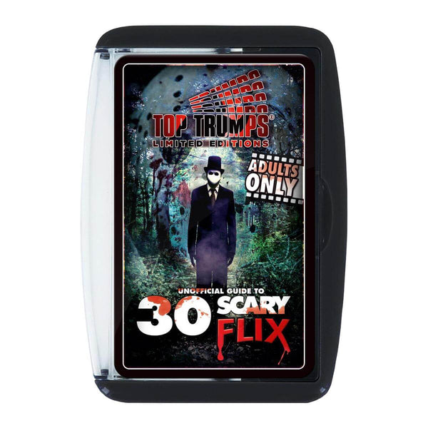Unofficial Guide to 30 Scary Flix Top Trumps Card Game - Winning Moves UK