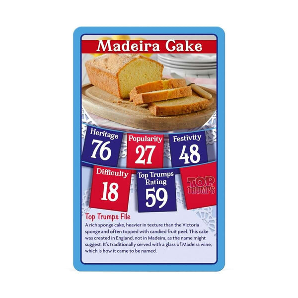 Great British Bakes RB Top Trumps Card Game