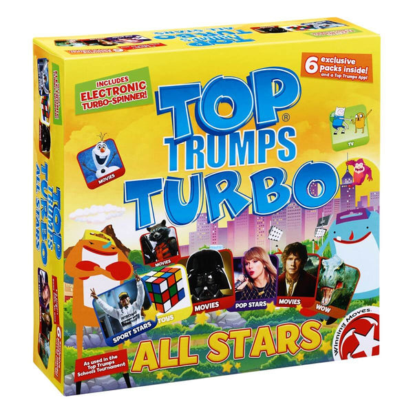 All Stars Top Trumps Turbo - Winning Moves UK