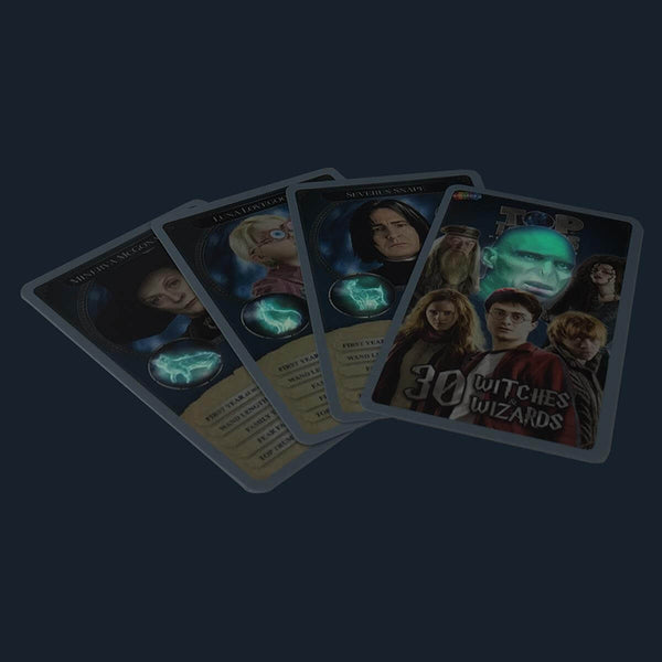 Harry Potter 30 Witches and Wizards Top Trumps Collectors Tin - Winning Moves UK