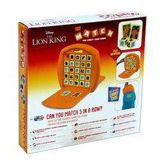 Lion King Top Trumps Match Cube Game - Winning Moves UK