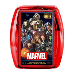 Marvel Cinematic Universe Top Trumps Quiz