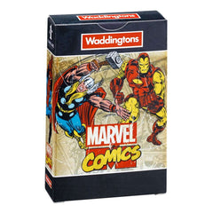Waddingtons Number 1 Marvel Comic Retro