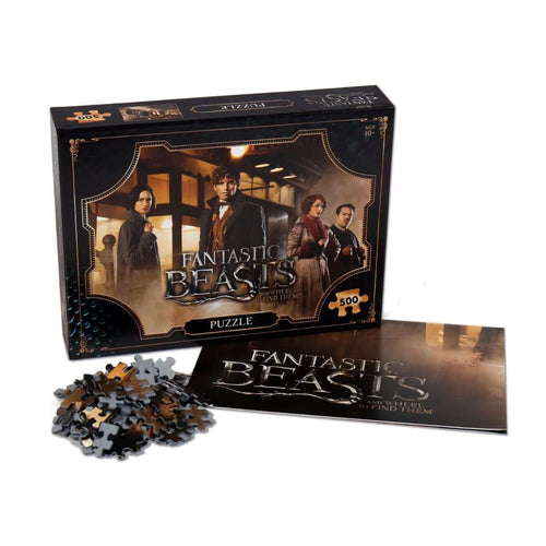 Fantastic Beasts 500 Piece Jigsaw Puzzle - Winning Moves UK