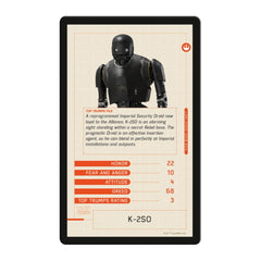 Star Wars Rogue One Top Trumps - Winning Moves UK