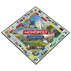 Canterbury Monopoly - Winning Moves UK