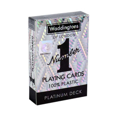 Classic Platinum Waddingtons Number 1 Playing Cards