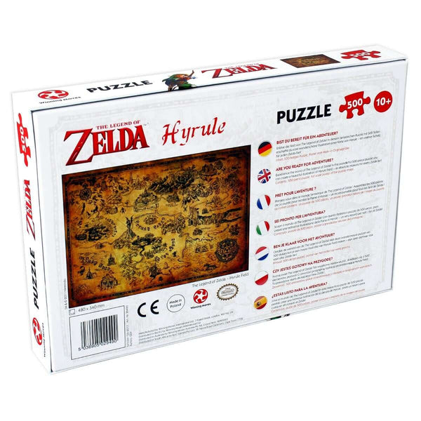 Legend of Zelda Hyrule Field 500 Piece Jigsaw - Winning Moves UK