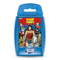 Justice League Top Trumps Card Game