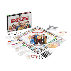The Big Bang Theory Monopoly - Winning Moves UK