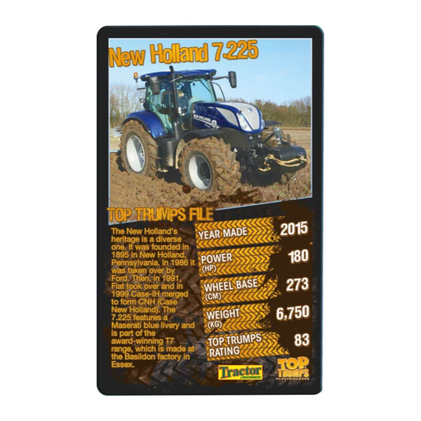 Tractors Top Trumps - Winning Moves UK