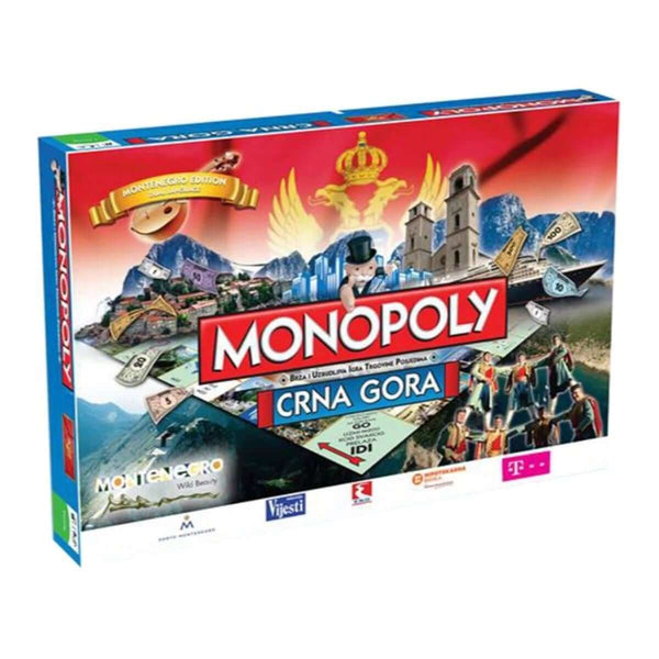 Crna Gora (Montenegro) Monopoly - Winning Moves UK