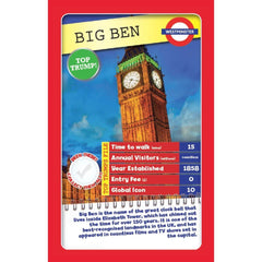 London 30 Things to See Top Trumps - Winning Moves UK