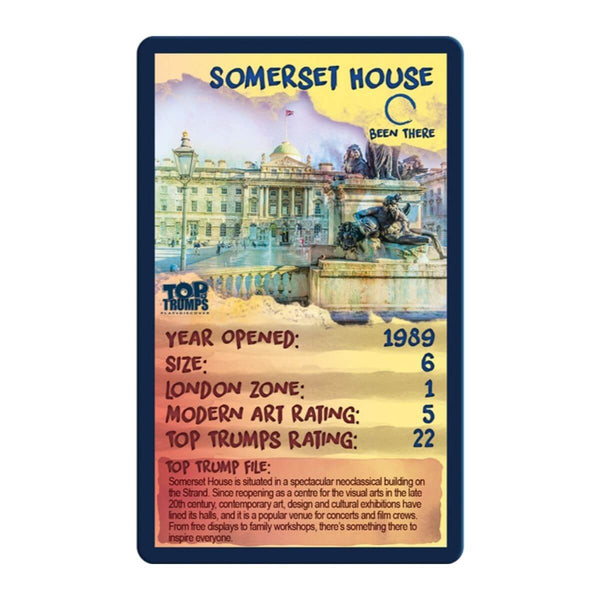 Top London Galleries Top Trumps - Winning Moves UK