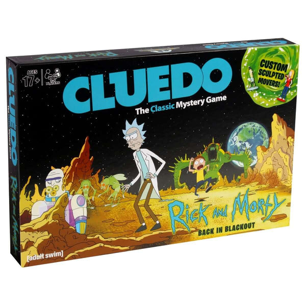 Rick and Morty Cluedo - Winning Moves UK