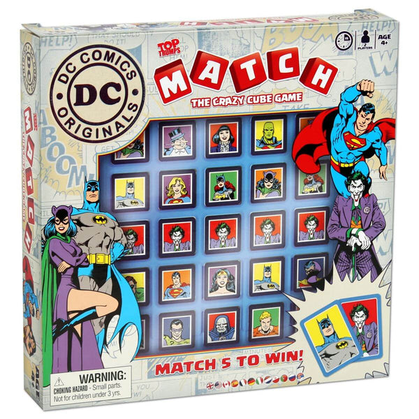 DC Comics Match Top Trumps - Winning Moves UK