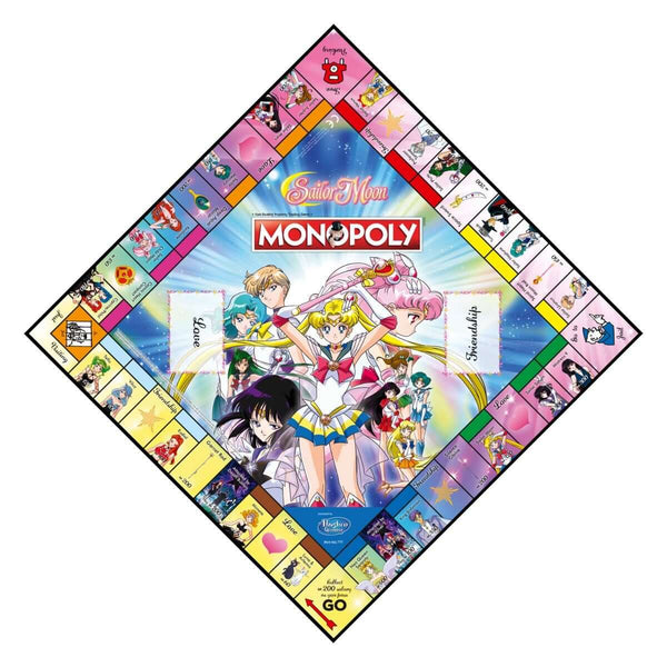 Sailor Moon Monopoly Board Game