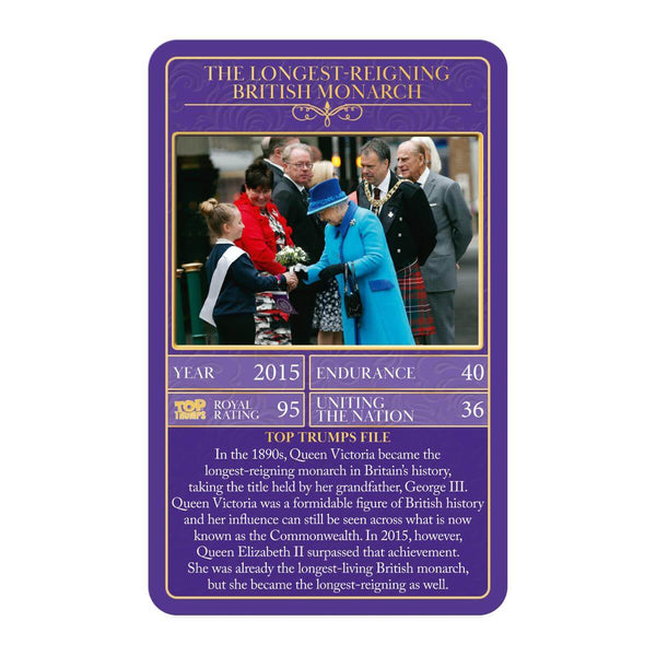 HM Queen Elizabeth II Top Trumps