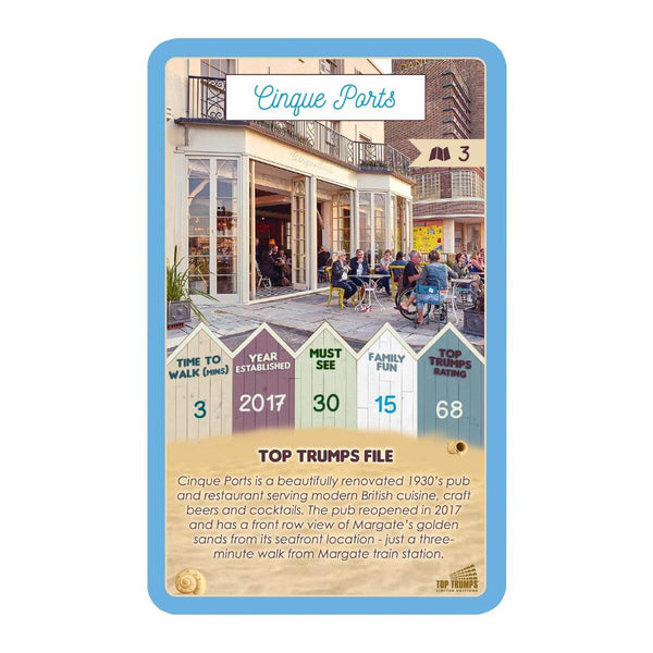 Margate 30 Things to See Top Trumps