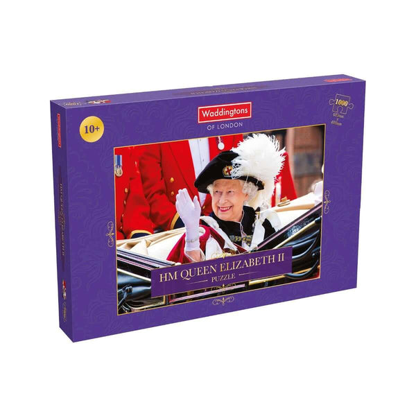 HM Queen Elizabeth II Single Image 1000 Piece Jigsaw Puzzle